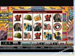 ilmaiset kolikkopelit Captain America CryptoLogic