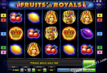 ilmaiset kolikkopelit Fruits and Royals Novoline