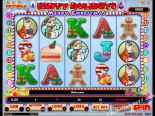 ilmaiset kolikkopelit Happy Holidays iSoftBet